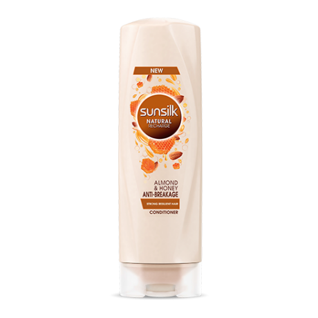Almond & Honey Anti-breakage Conditioner 180ml front of pack image