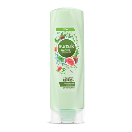 Sunsilk Refresh Conditioner 180ml front of pack image