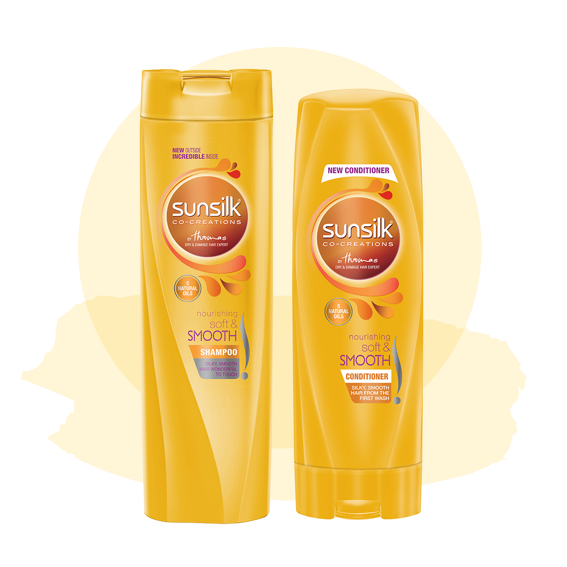 Sunsilk Pakistan Homepage | Your hair on your side