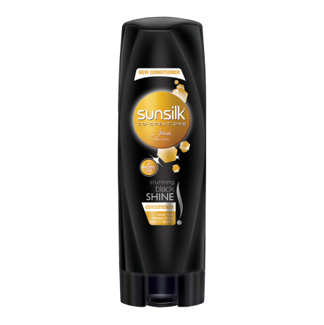 Sunsilk Black Shine Conditioner 180ml front of pack image
